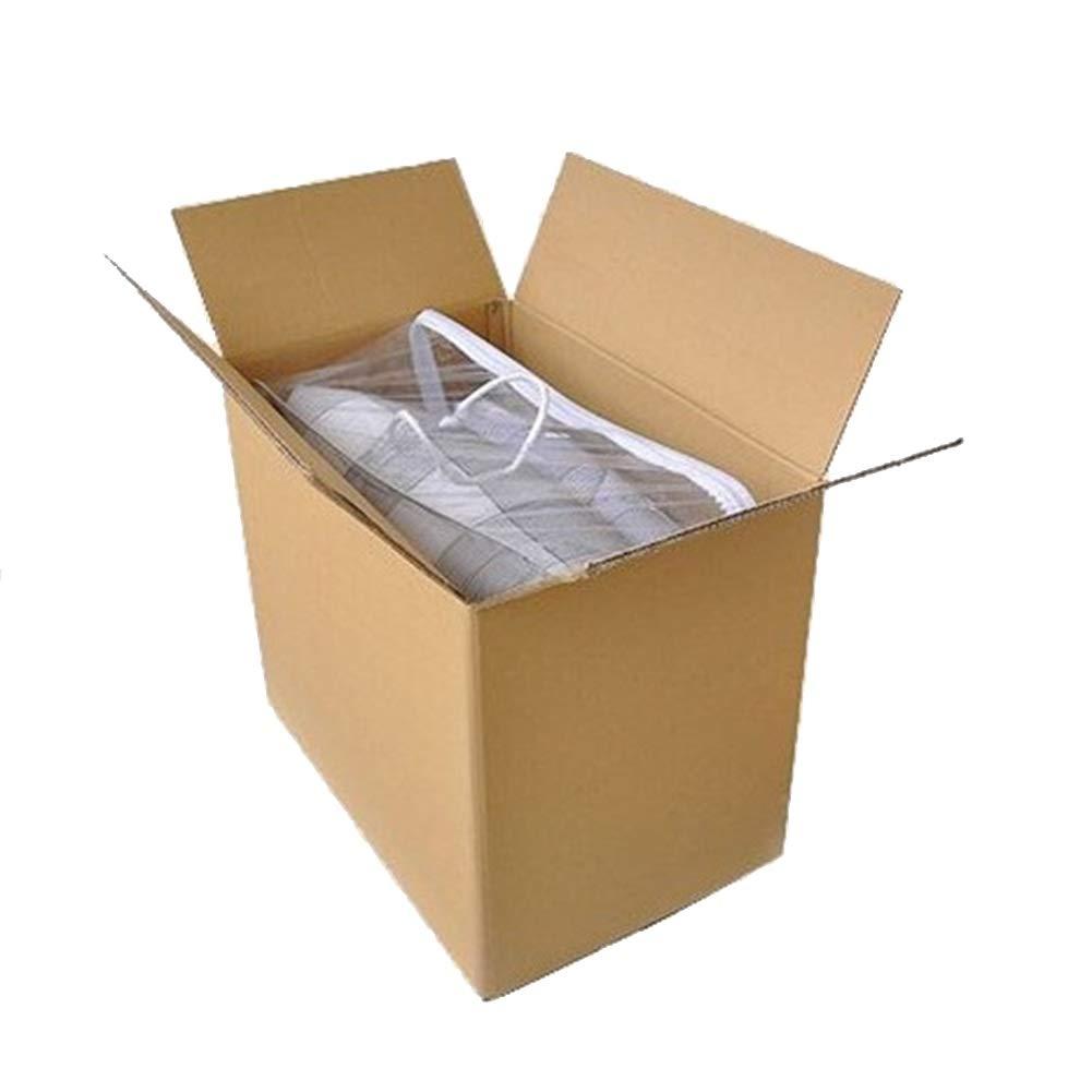 KKCF 段ボール1パックにつき10/20褐色段ボール箱ショックプルーフ耐摩耗性ストレージ用品郵送用品 、4サイズ (色 : Quantity10, サイズ さいず : 60x40x50cm) 60x40x50cm Quantity10 B07GLQ1XG6