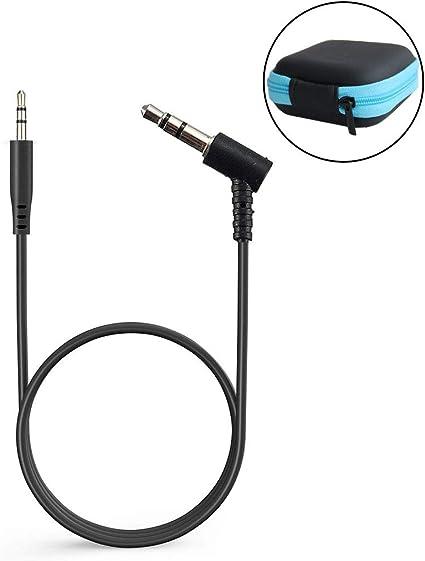 OE2i y SoundTrue con Mando a Distancia y micr/ófono Cable de Audio DE 1,2 m Cable de Repuesto para Auriculares Bose SoundLink OE2