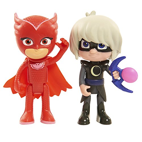 Just Play Disney Junior PJ Masks Figure Pack Set Owlette and Luna Girl