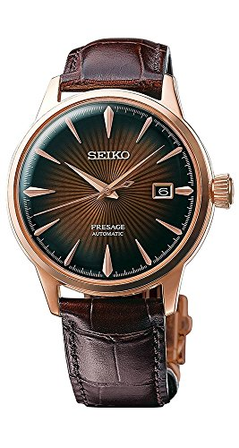 (Seiko SRPB46 Mens PRESAGE Automatic Watch w/ Date)