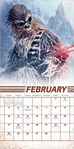 Solo - A Star Wars Story 2019 Calendar por Trends International epub