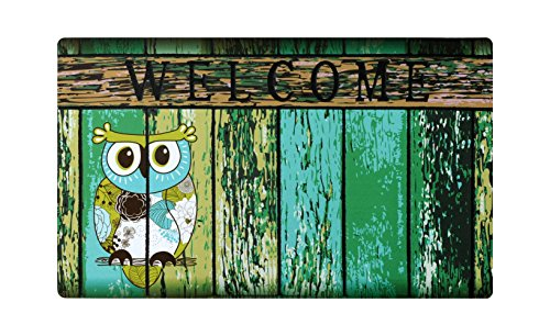 Welcome Doormat Front Door Mat, Rubber Back Non Slip Door Mat Entrance Rug Shoe Scraper 17