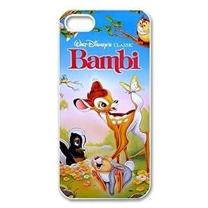 Customize Cartoon Disney Bambi Back Case for iphone 5c