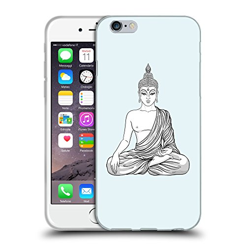 GoGoMobile Coque de Protection TPU Silicone Case pour // Q09980619 Bouddha assis 9 Bulles // Apple iPhone 7