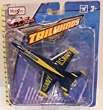 Tailwinds FA/18 Hornet (1:87 Scale) Blue Angels Paint Die-Cast Airplane