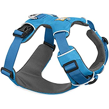 RUFFWEAR - Front Range, Everyday No Pull Dog Harness with Front Clip, Trail Running, Walking, Hiking, All-Day Wear, Blue Dusk (2017), Large/X-Large