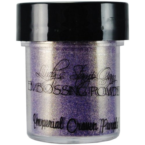 Lindy's Stamp Gang 2-Tone Embossing Powder, 0.5-Ounce Jar, Imperial Crown Purple Gold