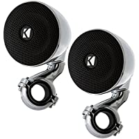 Kicker 40PSM34 100 3 Weather-Proof Enclosed Mini 4 ohm Speaker System