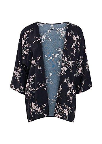 Soyaconcept Tristiane 4-B Kimono Para Mujer GRIS OSCURO