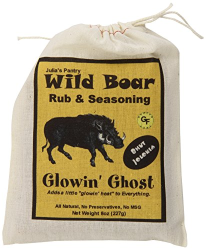 Wild Boar Wild Boar Rub, Ghost Pepper, 8 ()