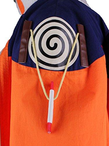 Wsysnl Japanese Anime Cosplay Costume for Uzumaki Naruto Adult/Kids by Wsysnl (Image #4)