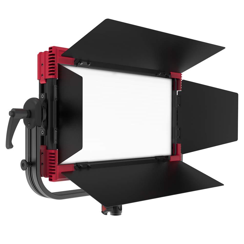 Rayzr MC100マルチカラーソフトパネルライト RBGWW LED 大光量 TLCI98 2400K~9800K ビデオライト ワイヤレス&DMX制御可 フルカラー 軽量 YouTube 生放送 照明撮影用 MC100  B07QPKF3V6