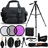 Essential 19 Piece Accessory Kit for Canon EOS Rebel T6i, Rebel T6S, EOS Rebel T5, Rebel T5i, Rebel T4i, Rebel T3, Rebel T3i, Rebel T2i, Rebel SL1, EOS M, EOS M2, EOS 700D, EOS 650D, EOS 600D, EOS 550D EOS 70D, EOS 60D, EOS 5D DSLR Cameras