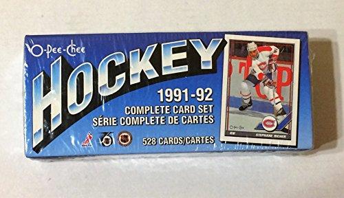 1991 O-Pee-Chee Hockey Trading Cards (Hockey Card Sets)