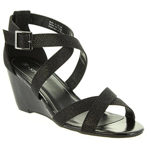 Black Urban Pour b7300 Sandales Femme 257761 wxvFzqXUq