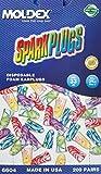 Moldex 6604 Sparkplugs Earplugs Uncorded, Box 200 Pairs