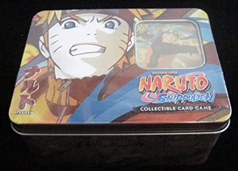 Amazon.com: Naruto Guardian of the Village TCG Collector Tin ...