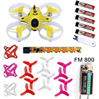 QWinOut Tiny6 PNP Mini Pocket Racing Drone Quadcopter 800TVL Camera With FUTABA FASST FM800 Receiver (Advanced Version)