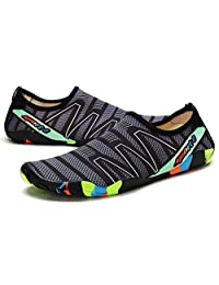 Water Shoes Quick-Dry Aqua Yoga Sneakers for Men Women Outdoor Beach Swim Surf Boating Sports