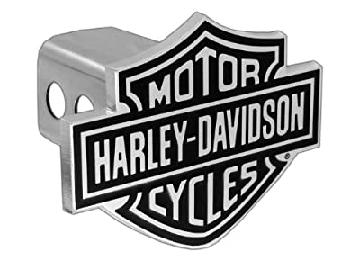 Harley-Davidson® Hitch Cover Black B&S