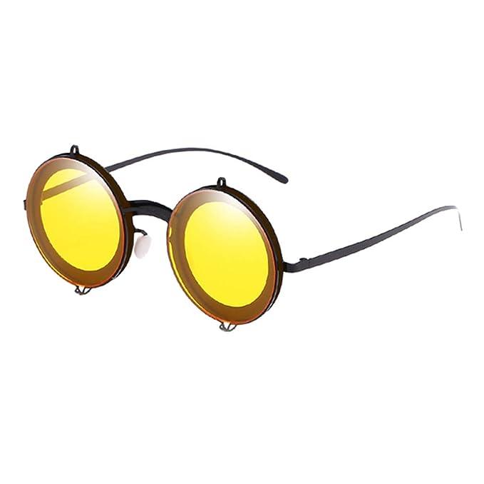70654f5e23 Gafas Vintage Hombres Moda Pc De Redondas Mxssi Nuevas Sol Mujeres 8NOk0wnPX