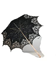 Beautiful Black Lace Parasol