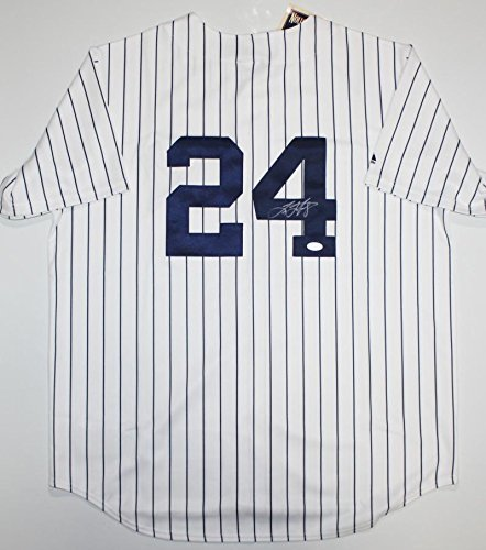 (Tino Martinez Autographed P/S New York Yankees Jersey- JSA Authenticated 4)