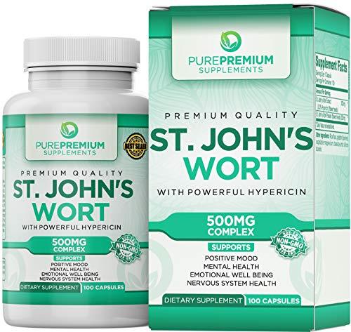 Supplement PurePremium Hypericin Well Being Gluten Free