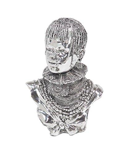 Deco 79 59575 Sculpture, Silver