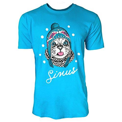 SINUS ART ® Süße Katze mit Wollmütze