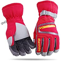 LoveKids Waterproof Warmest Winter Snow Gloves for Boys and Girls Women Men