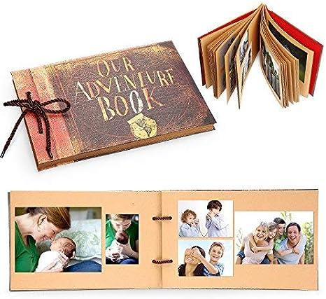 Álbum de recortes Pixar Up hecho a mano con diseño de libro de ...