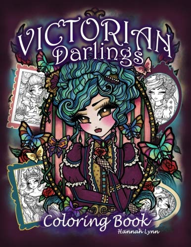 Victorian Darlings Coloring Book