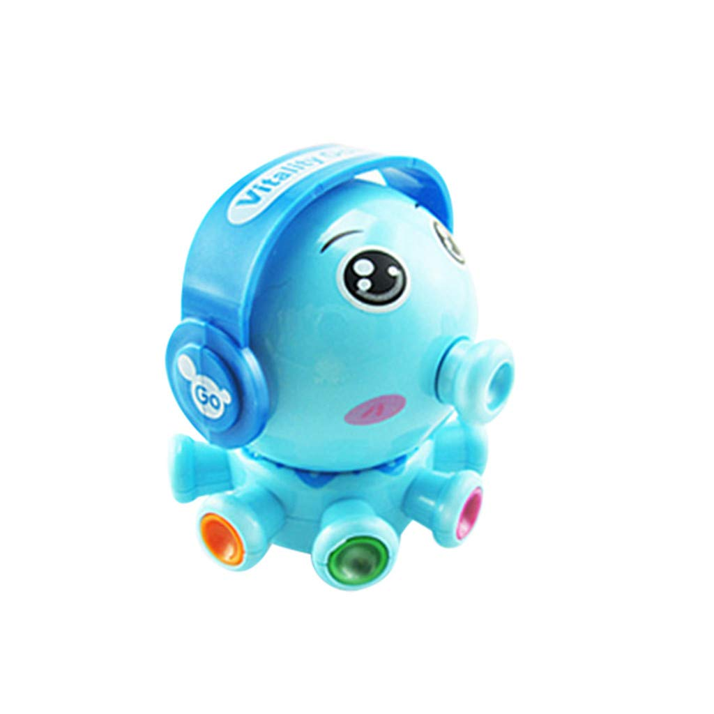 BOLUOYI Educational Toys,Cute Animal Octopus Figures Clockwork Toys Kid Wind Up Cartoon Toy Xmas Gift