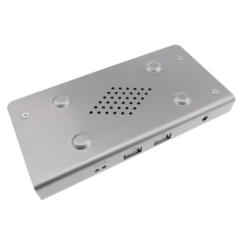 KVM Extender USB IR HDMI sur Ethernet jusqu/à 120m r/écepteur BeMatik
