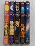 Hem Celestial Incense Variety Sun Moon Star Planet Galaxy, 100 Stick