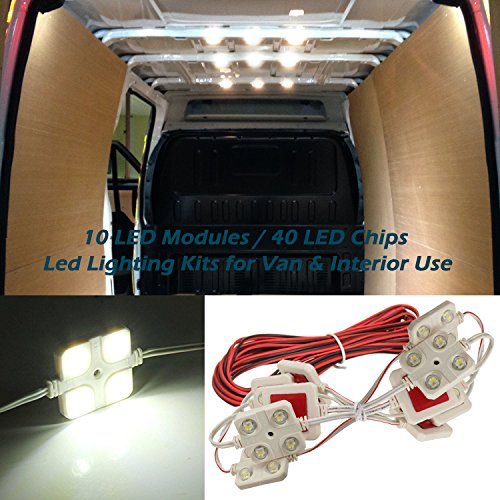 12V-40-LEDs-Van-Interior-Light-Kits-Ampper-LED-Ceiling-Lights-Kit-for-Van-Boats-Caravans-Trailers-Lorries-Sprinter-Ducato-Transit-VW-LWB-10-Modules-White