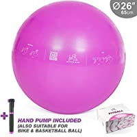 LaFit CLUB 65 cm Pink Exercise Ball