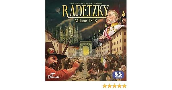 machebelcarrello radetzky Milano 1848 Juego de Mesa, Color Color, 8034063230892: Amazon.es: Juguetes y juegos