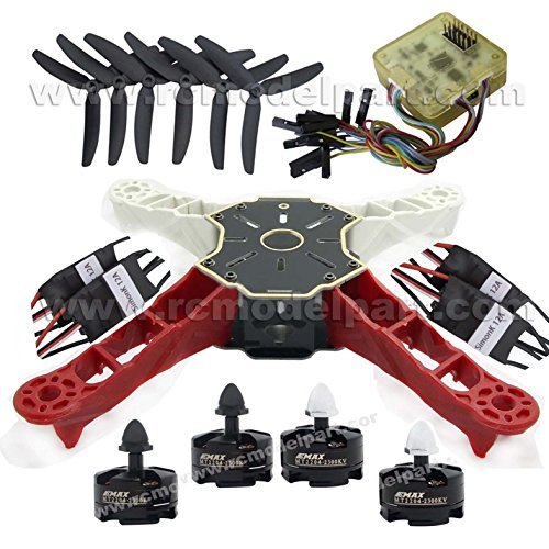 Hobbypower Totem Q250 250mm DIY Quadcopter Kit & Emax MT2204 BL Motor & SimonK 12A ESC & CC3D FC