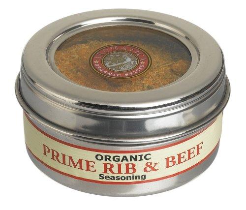 UPC 875708000320, Aromatica Organics Prime Rib And Beef Seasoning, 2.5-Ounce Tin (Pack of 3)