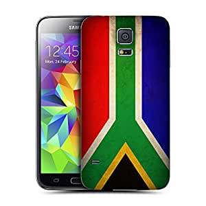 Head Case Designs South Africa South African Vintage Flags Replacement Battery Cover for Samsung Galaxy S5 / S5 Neo