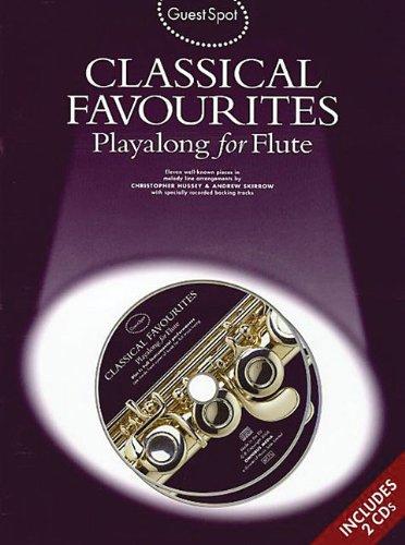 Download GUEST SPOT CLASSICAL FAV FLT BOOK/CD PDF