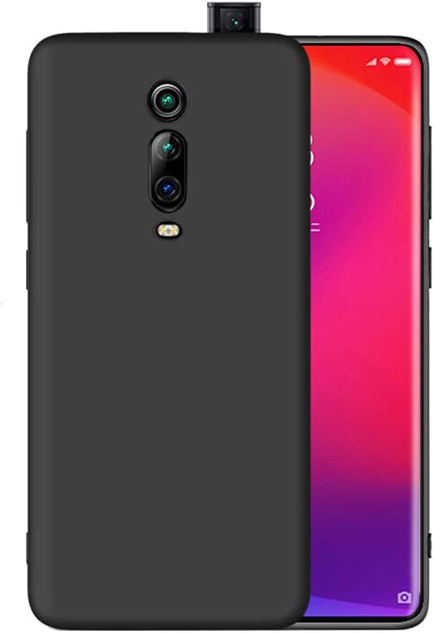 LAYJOY Funda Xiaomi Mi 9T/ Mi 9T Pro/Redmi K20/ K20 Pro, Ligera Carcasa Silicona Suave TPU Gel Bumper Case de Protectora [Antideslizante] [Anti-Golpes] Cover Caso (2019) 6.39 Pulgadas -Negro
