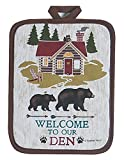 Kay Dee Designs R3002 Welcome to The Den Lodge Potholder