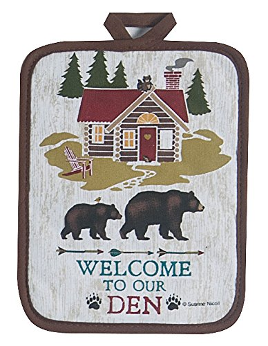 Kay Dee Designs R3002 Welcome to The Den Lodge Potholder by Kay Dee (Image #1)