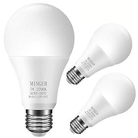 MINGER Sensor Light Bulbs
