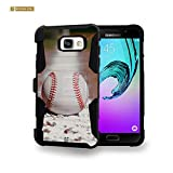 Spots8® for Samsung Galaxy A5 (2016) Heavy Duty Case with Kickstand and Holster [Baseball Ball]