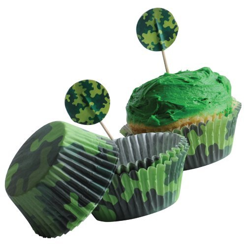 U.S. Toy Camo Cupcake Kits/24-Sets