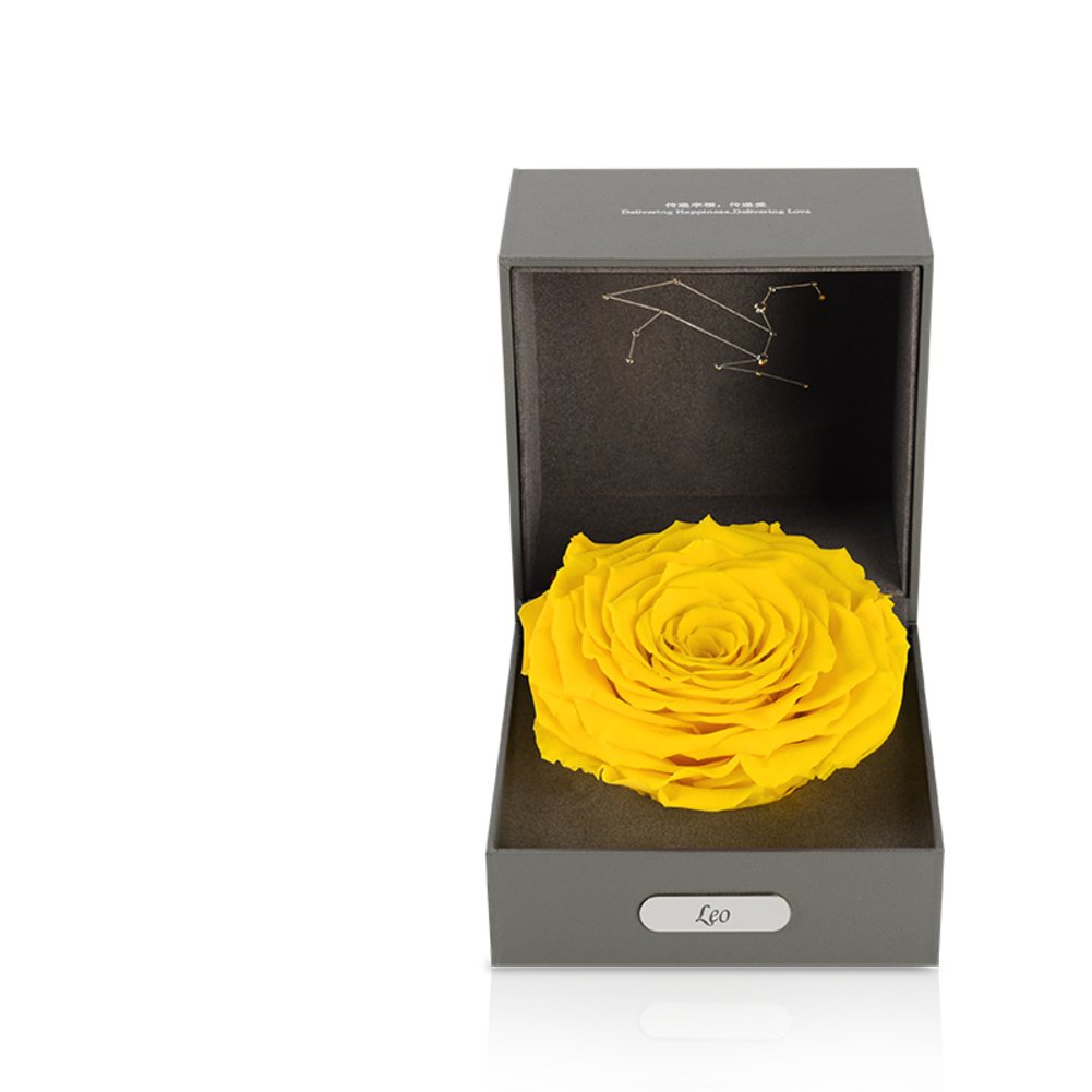 Imported Live Flower Gift Box/Fresh Colorful Roses/ Birthday Gift For Mother's Day-H